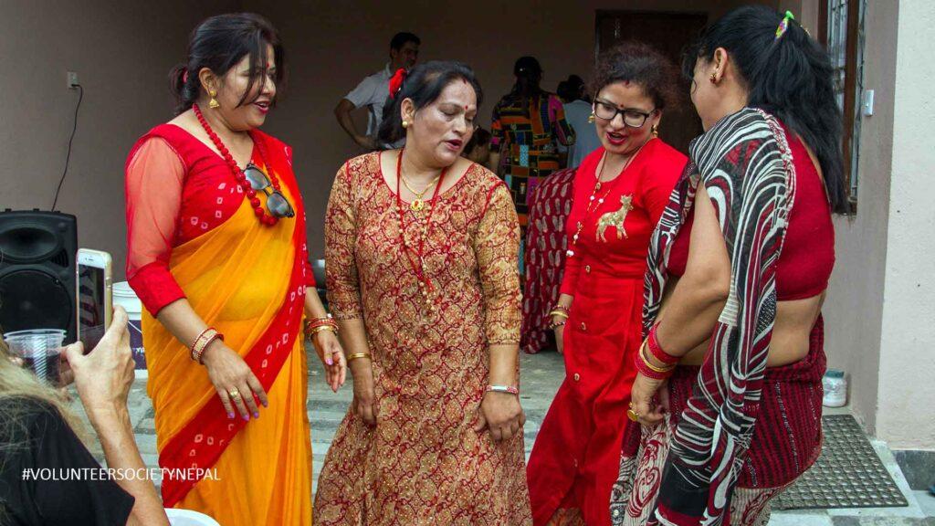 enjoying-teej-festival-in-nepal