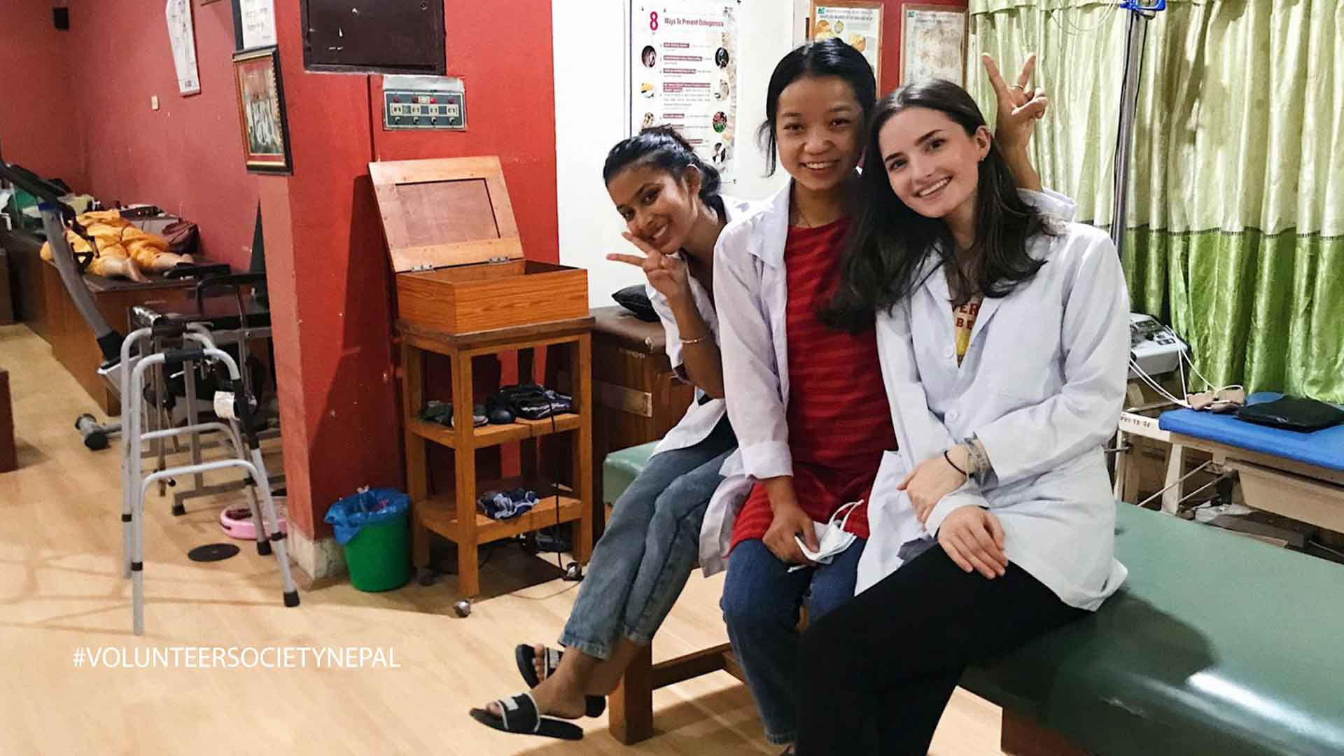 erica boland a physiotherapy intern from usa