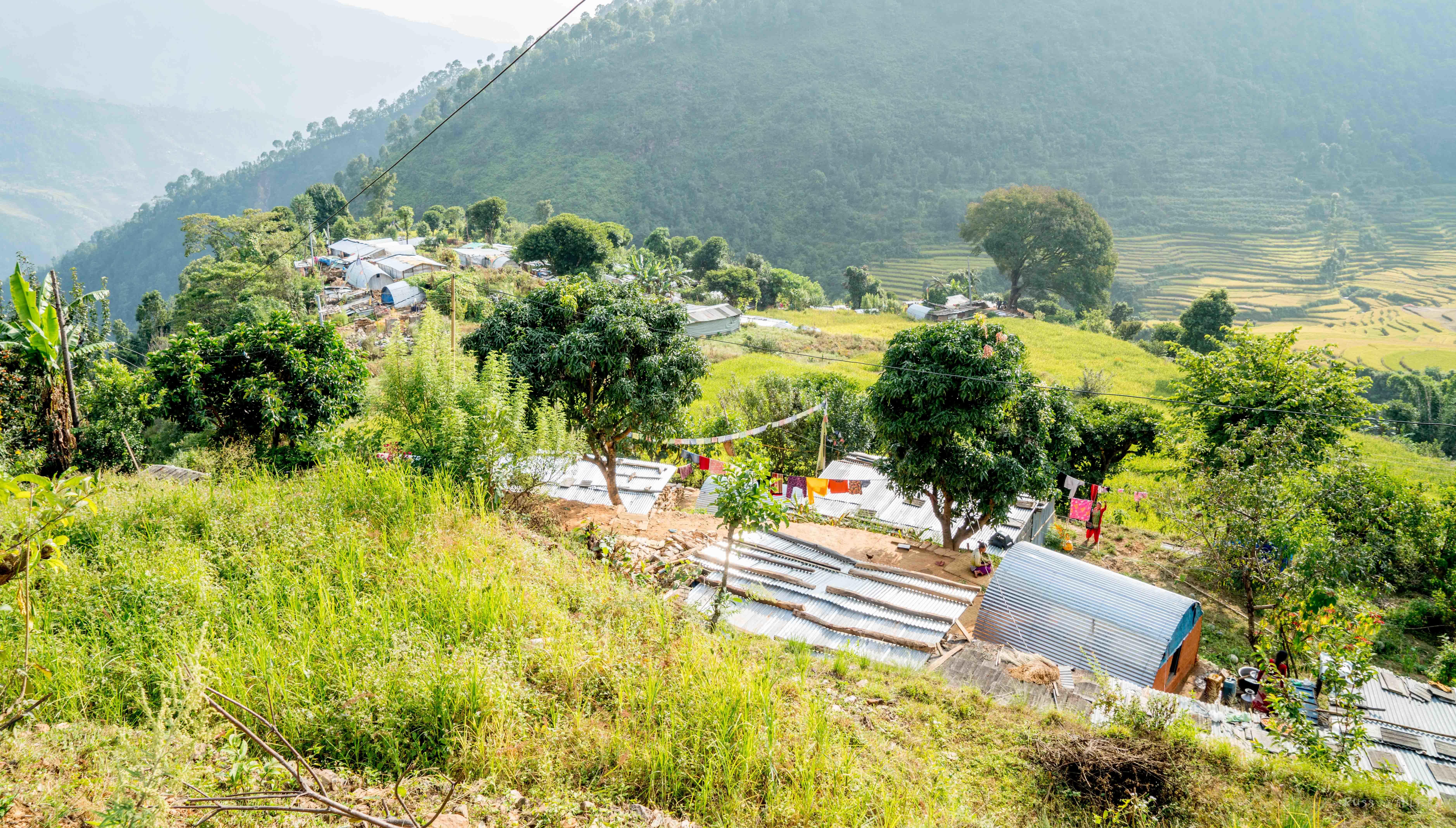 Volunteering in Nepal - hilly region volunteering in nepal