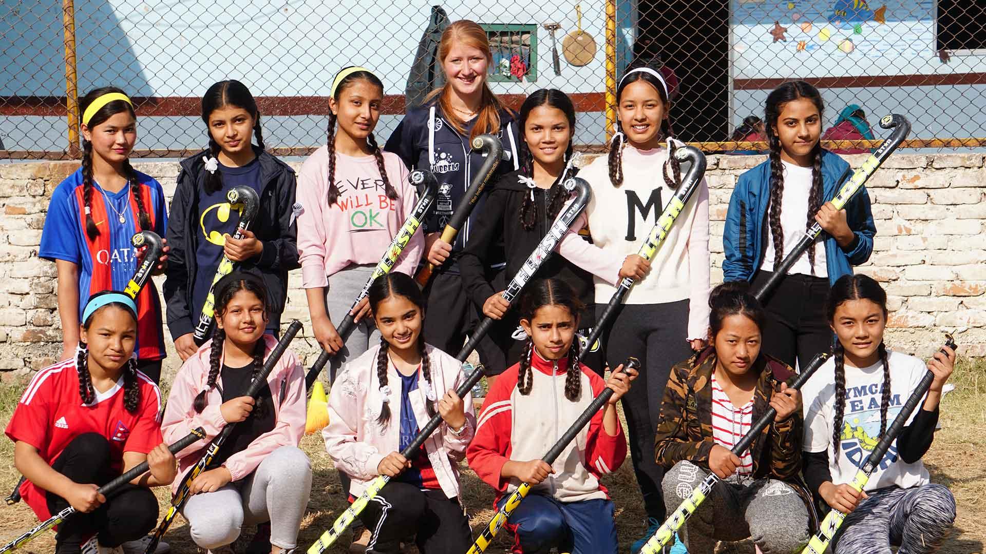 hockey for nepal
