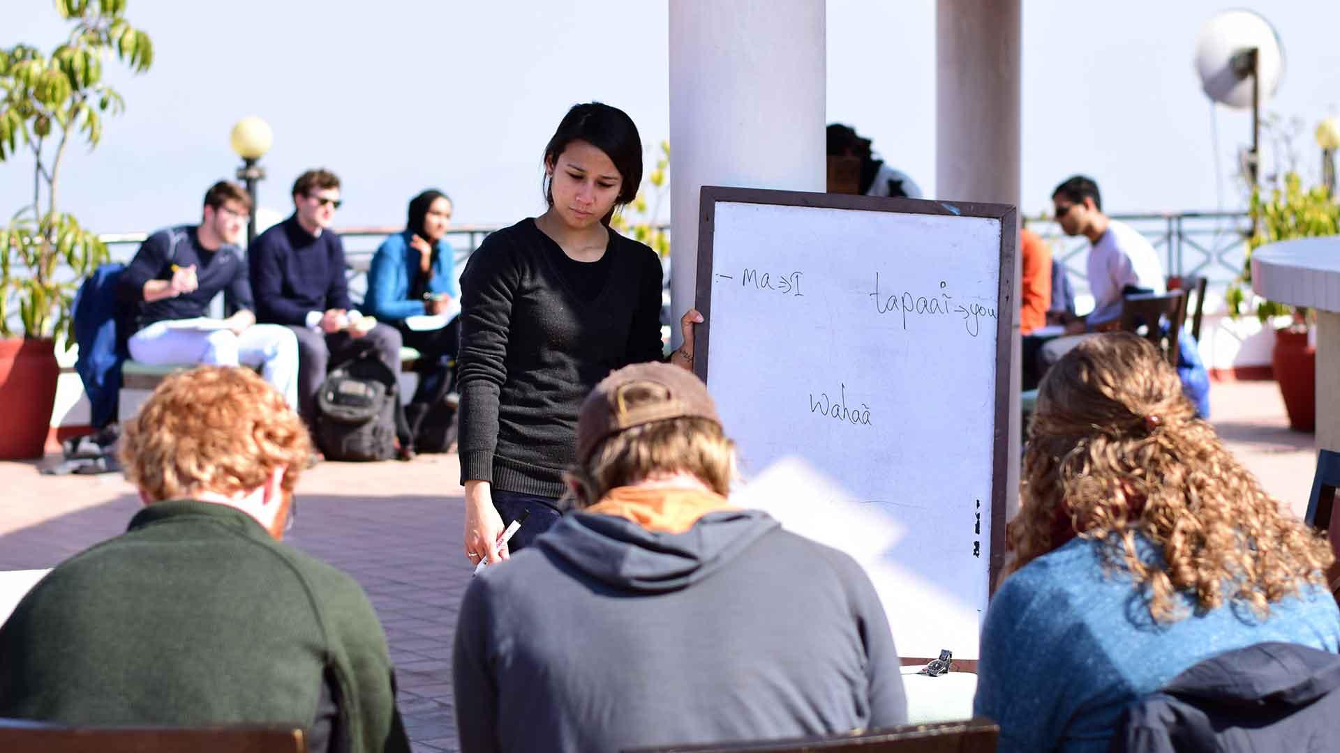 language and cultural orientation program