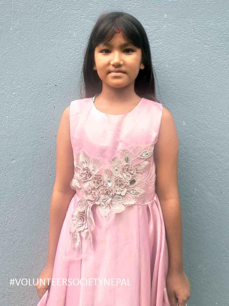 salina pradhan child sponsorship in nepal