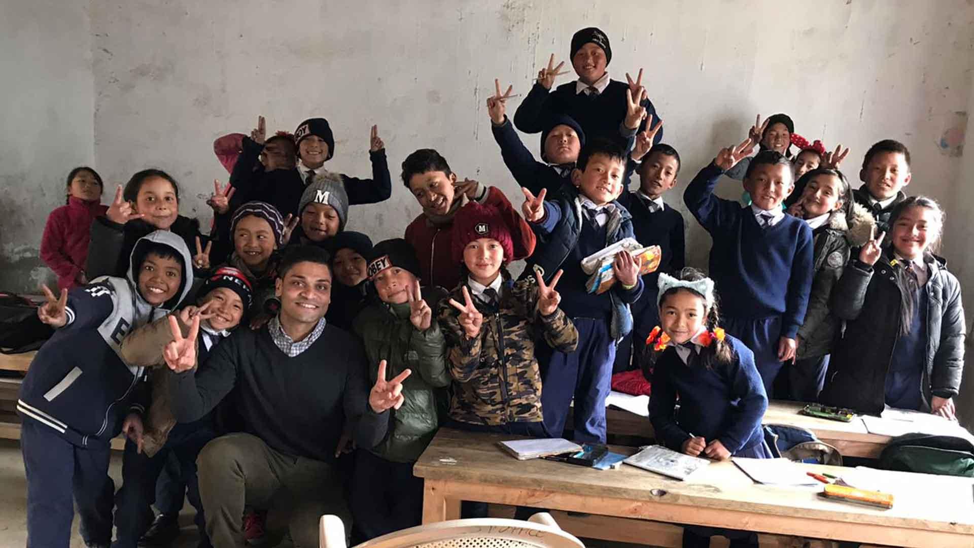 teaching internship volunteer