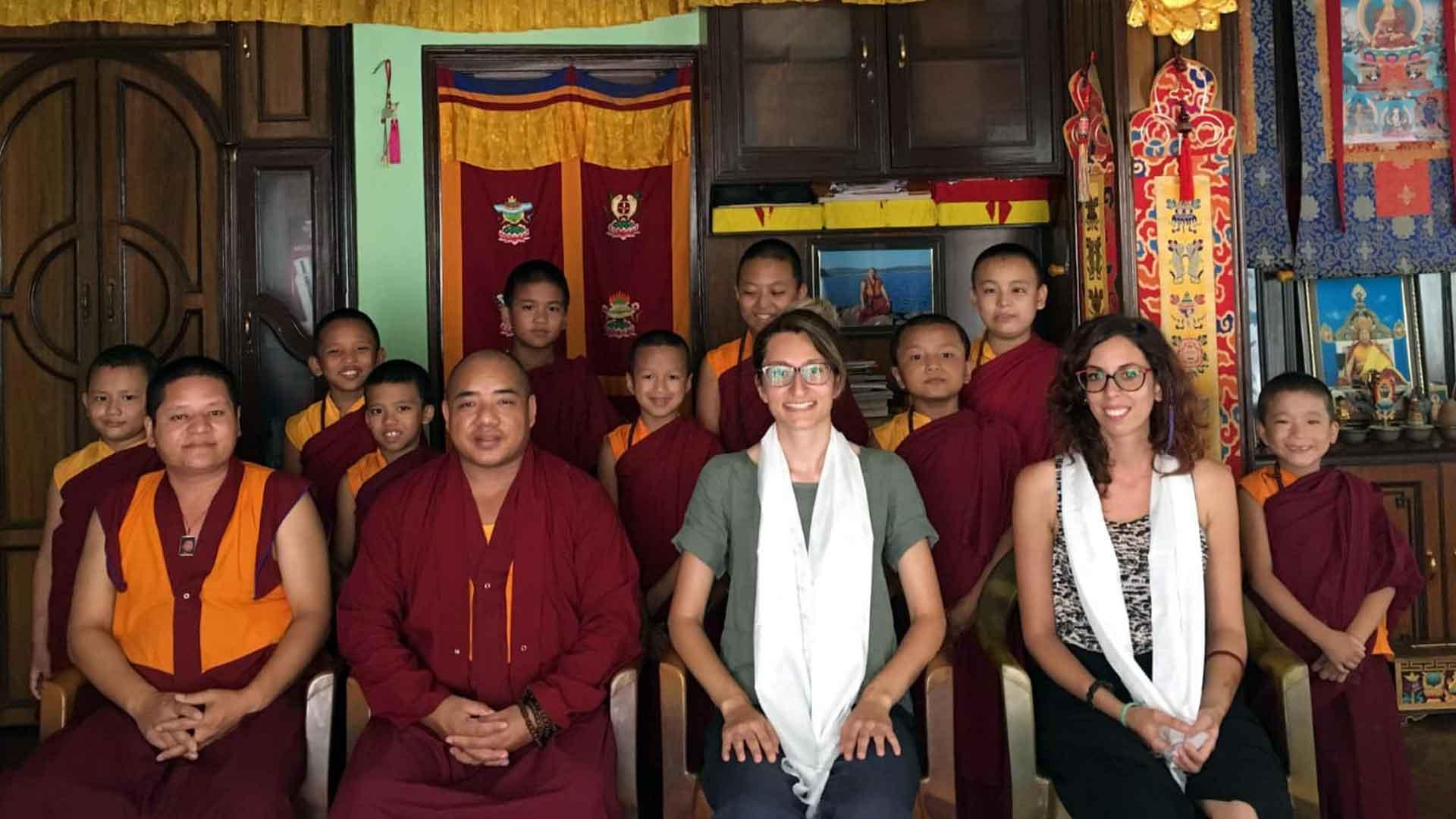 volunteer monastery nepal
