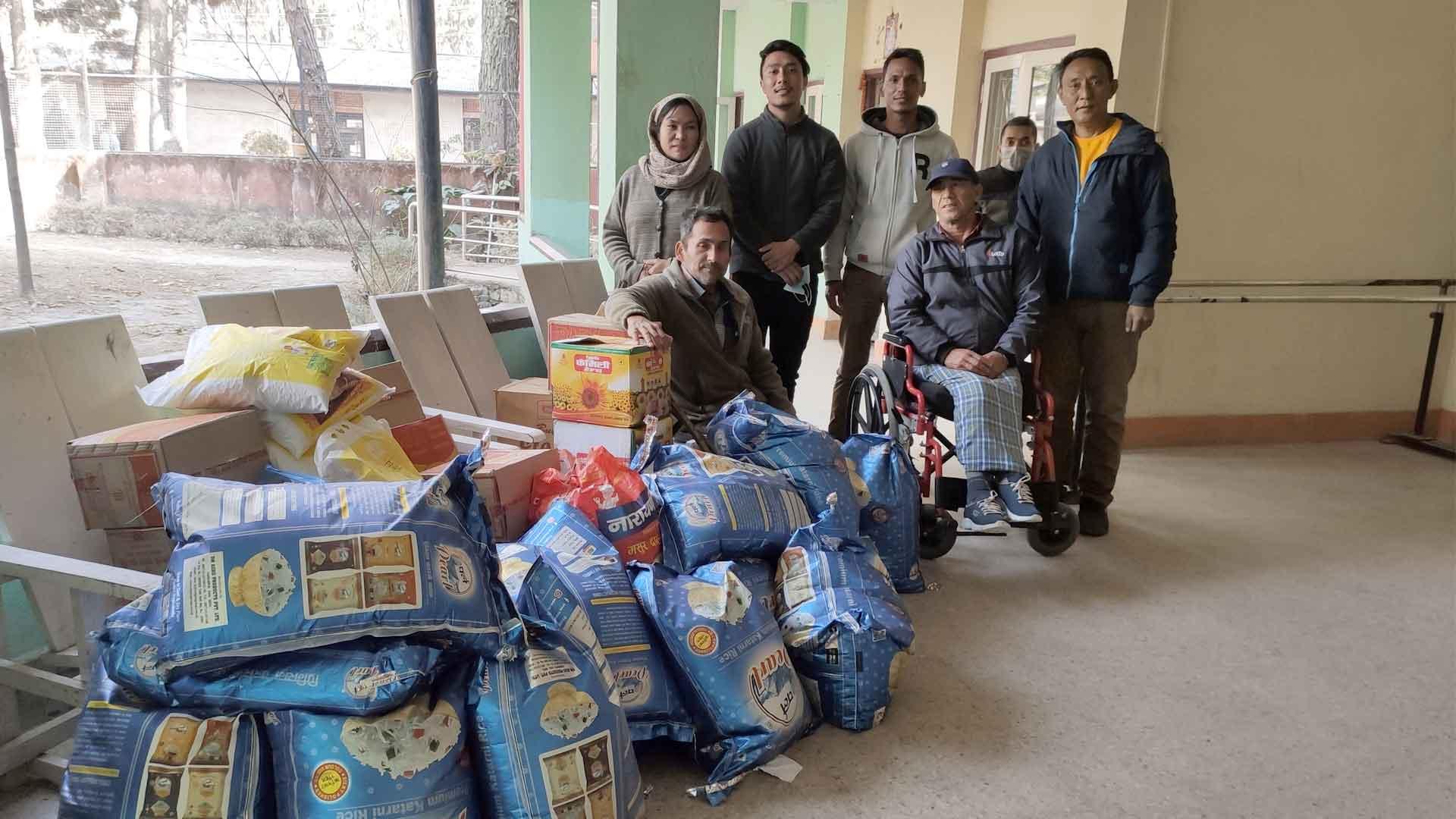 Some of the Benevolent Activities of Volunteer Society Nepal