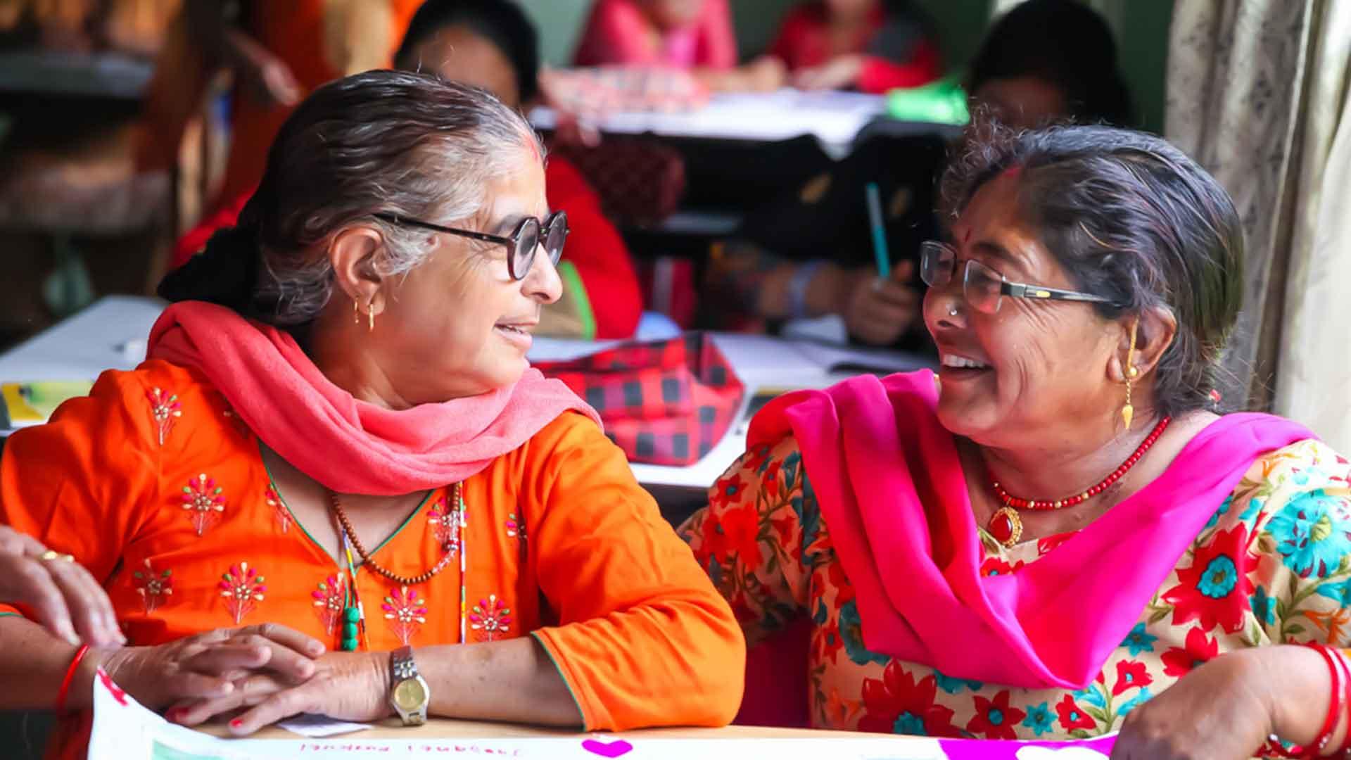 women group volunteering nepal